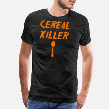 Breakdown Cereal Killer T Shirt Funny Vintage T Shirts Break - Men's Premium T-Shirt