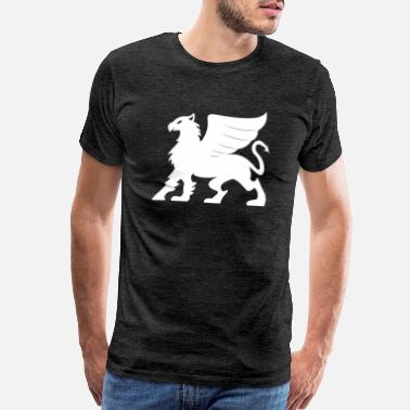 Mythical Beast Griffin - Men's Premium T-Shirt