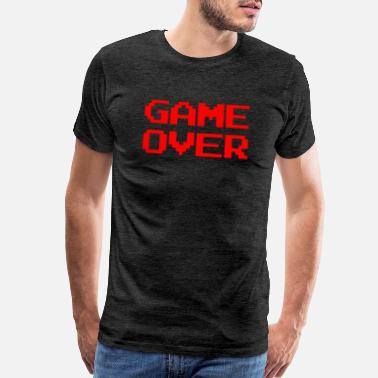 Reds Game over red - Men's Premium T-Shirt