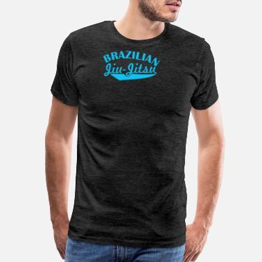 afdb7d33 Brazilian Fight Brazilian Jiu Jitsu MMA Boxen Fight - Men's Premium T-Shirt