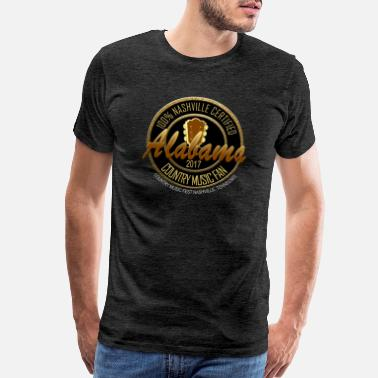 Nashville Tn Country Music Alabama Country Music Fan - Men's Premium T-Shirt
