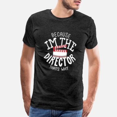 Film Director Director T-Shirts & Gifts Clappboard - Men's Premium T-Shirt