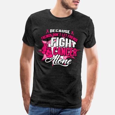 Breast Cancer Awareness Fight Breast Cancer Pink Ribbon Survivor awareness - Men's Premium T-Shirt