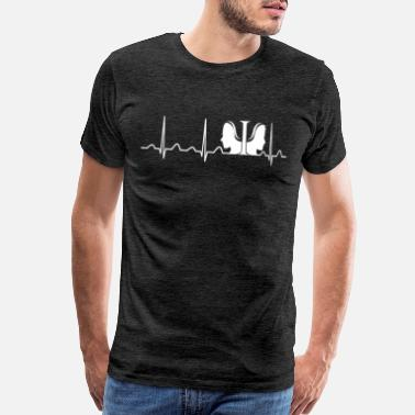 Beat It Psychologist Heartbeat - Men's Premium T-Shirt