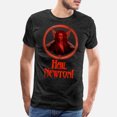 Isaac Hail Newton! - Men's Premium T-Shirt