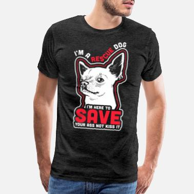 Avalanche Rescue Dog Owner Design Gift for Breed Rescue - Men's Premium T-Shirt