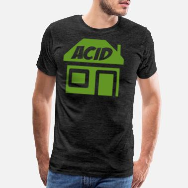 Acid Folk ACID HOUSE - Men's Premium T-Shirt