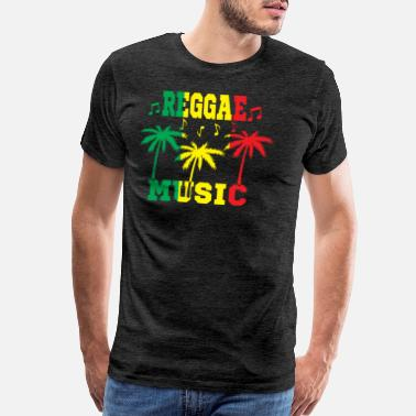 Lion Reggae Reggae Music - Men's Premium T-Shirt