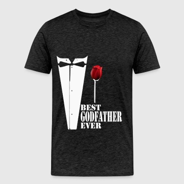 Godfather - Best Godfather ever - Men's Premium T-Shirt
