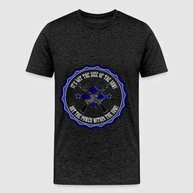Ranger - It's not the size of the army but the  - Men's Premium T-Shirt