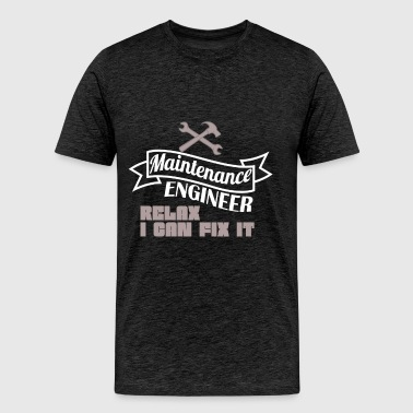 Maintenance Engineer  - Maintenance Engineer -  - Men's Premium T-Shirt