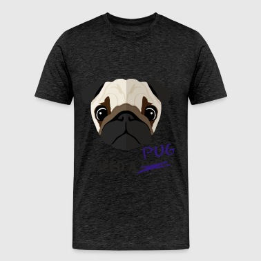 Pug - I need a pug hug - Men's Premium T-Shirt