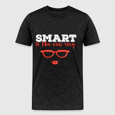 Smart - Smart is the new sexy - Men's Premium T-Shirt