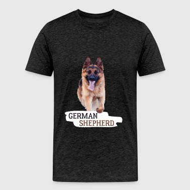 German Shepherd - German Shepherd - Men's Premium T-Shirt