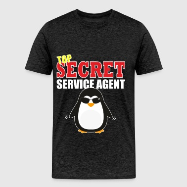 Secret Service Agent - TOP Secret Service Agent - Men's Premium T-Shirt