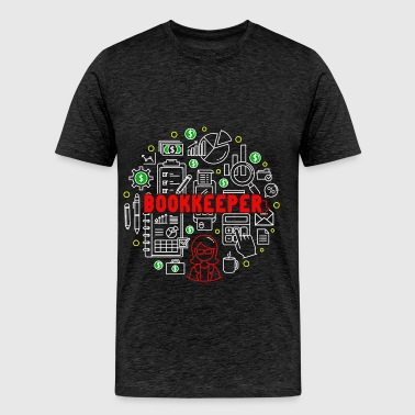 Bookkeeper - Bookkeeper - Men's Premium T-Shirt