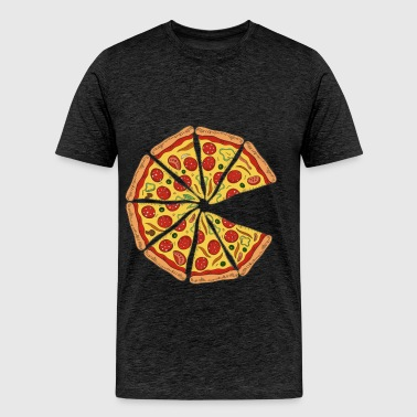 Pizza - Pizza - Men's Premium T-Shirt
