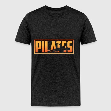 Pilates - Pilates - Men's Premium T-Shirt