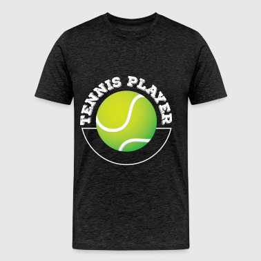 Tennis Player - Tennis Player - Men's Premium T-Shirt