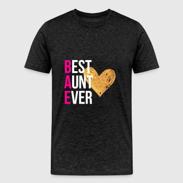 Aunt - Best aunt ever - Men's Premium T-Shirt