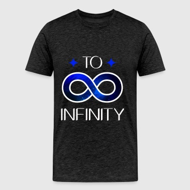 Best friends - To infinity - Men's Premium T-Shirt