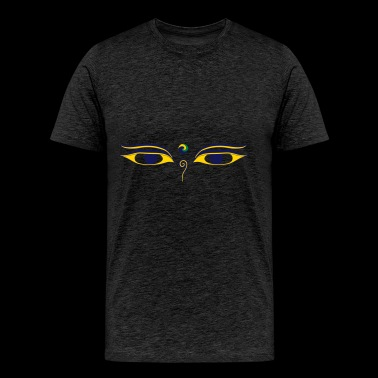 Eye of Buddha - Men's Premium T-Shirt