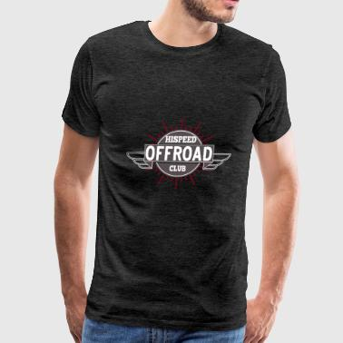 Offroad Hispeed Club - Men's Premium T-Shirt