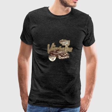 Vintage car show - Men's Premium T-Shirt