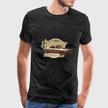 Highway speed demon - Men's Premium T-Shirt