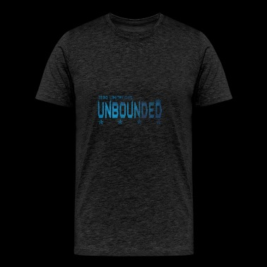 UNBOUNDED dark blue - Men's Premium T-Shirt