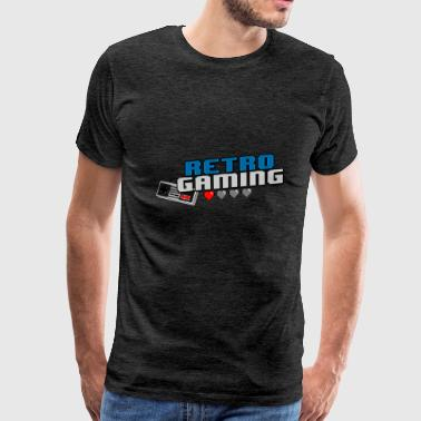 RetroGaming - Men's Premium T-Shirt