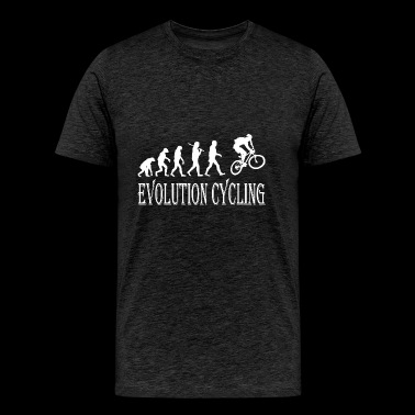 Evolution Cycling Cycle - Men's Premium T-Shirt