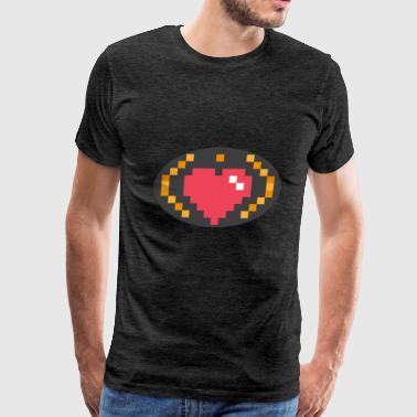 Digital Heart Isle | by Isles of Shirts - Men's Premium T-Shirt