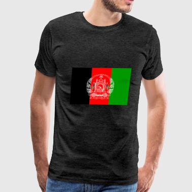 Afghanistan National Flag - Men's Premium T-Shirt