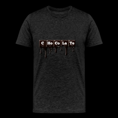 Periodic Elements: CHoCoLaTe - Men's Premium T-Shirt