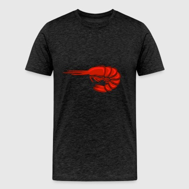 Shrimp fresh seafood plankton food delicacy image - Men's Premium T-Shirt