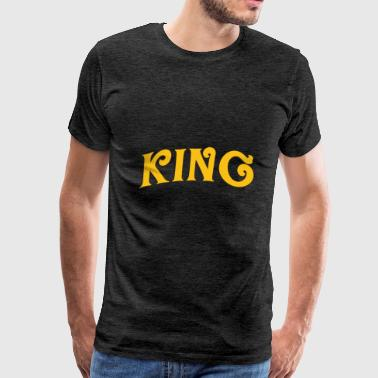 King 3 - Men's Premium T-Shirt