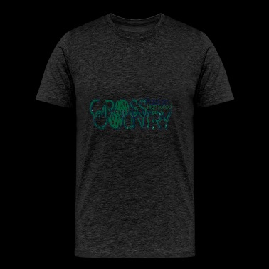 CROSS COUNTRY Paxton High School CROSS COUNTRY Pax - Men's Premium T-Shirt