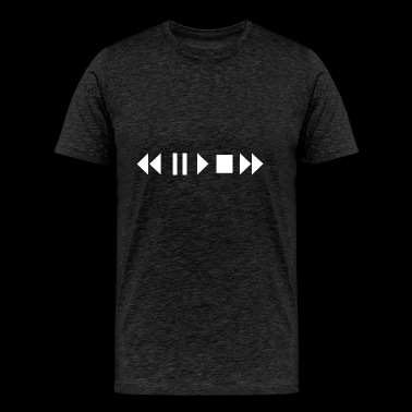 Play Pause Rewind - Men's Premium T-Shirt