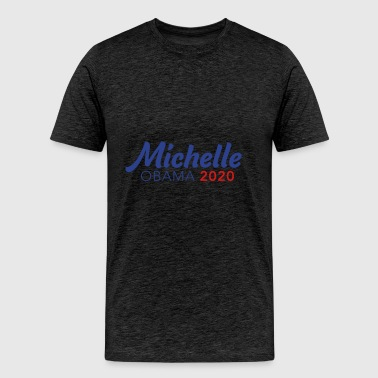 MICHELLE OBAMA for PRESIDENT 2020 - Men's Premium T-Shirt