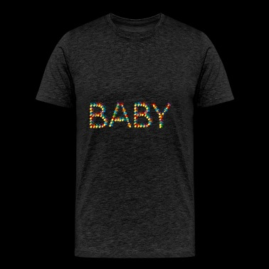 baby out of pacifiers - Men's Premium T-Shirt