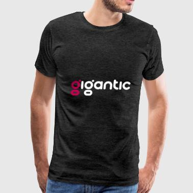 Gigantic Logo - Men's Premium T-Shirt