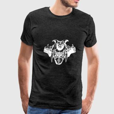 White Skull Animal Graphic - Men's Premium T-Shirt