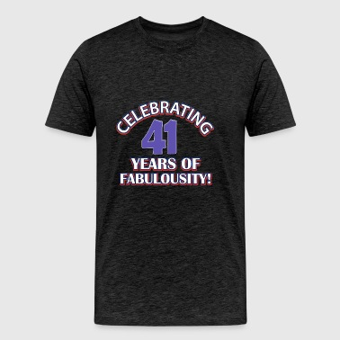 44th year birthday designs - Men's Premium T-Shirt