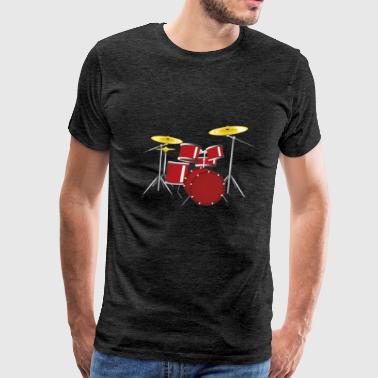drum - Men's Premium T-Shirt