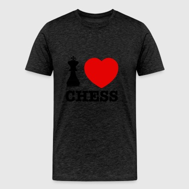 chess love - Men's Premium T-Shirt