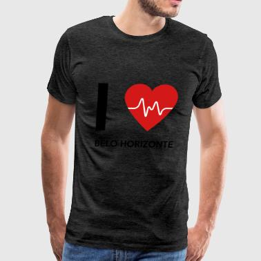 I Love Belo Horizonte - Men's Premium T-Shirt