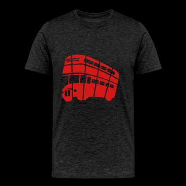 LONDON DOUBLE-DECKER BUS - Men's Premium T-Shirt