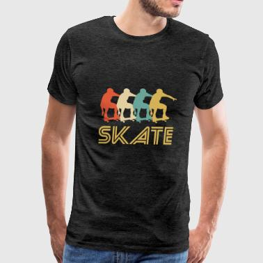 Skateboarding Pop Art - Men's Premium T-Shirt