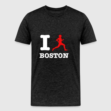 boston design - Men's Premium T-Shirt